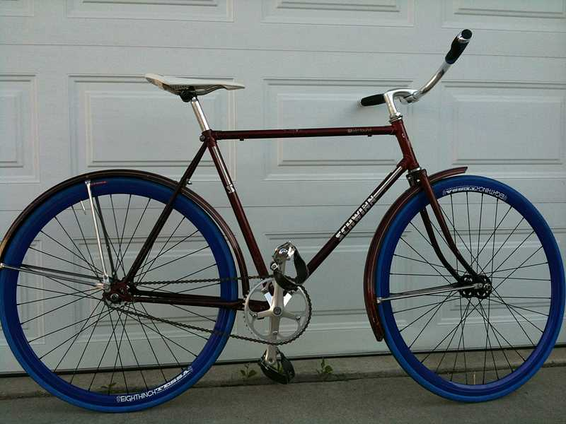 Fixed Gear Gallery Don S Schwinn World Tourist