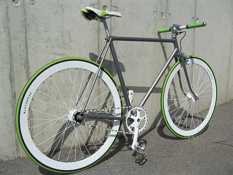 fixed gear gallery peugeot green apple slice fixie. Black Bedroom Furniture Sets. Home Design Ideas