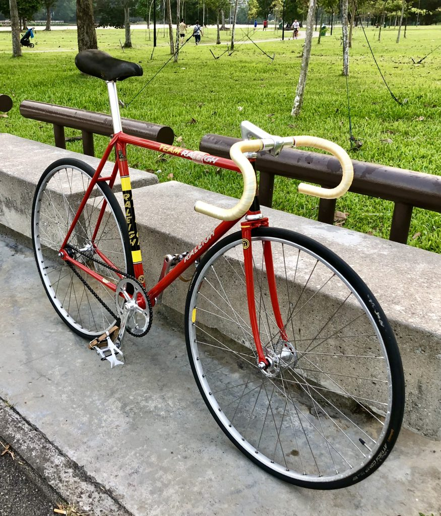 Pilo's Vintage Raleigh Track