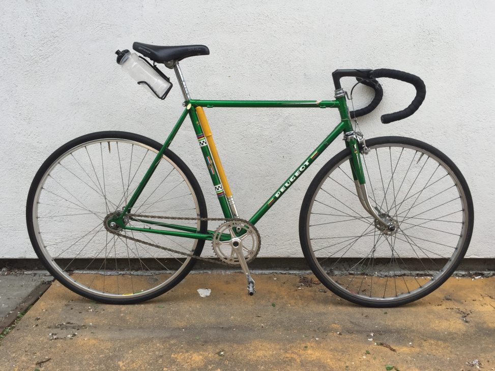 Thomas Sacco's Peugeot UO-8 fixie conversion